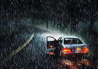 Рекомендации по безопасному движению в дождь