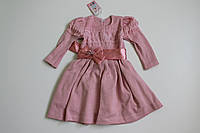 Вязаное платье Лили р.5 лет