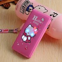 Hello Kitty D10 модная раскладушка для девочек на 2 сим карты, хелло китти с сенсорным экраном