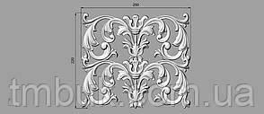 Центральный резной декор 5 - 250х220 мм, фото 2