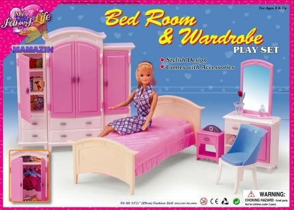 Мебель для куклы Спальня Gloria 24014, фото 1