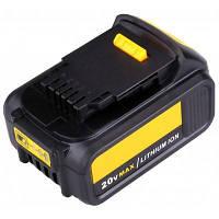 Литий-ионная аккумуляторная батарея FLOUREON 20V 3000mAh для Dewalt DCB200 FDD-28831