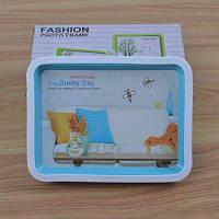 7-дюймовая прямоугольная простая фото рамка из пластика и стекла рамки для подарков 5х7 дюймов