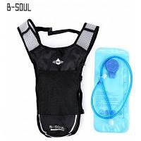 B-душа 5л 2л воды мешок мочевого пузыря гидратации рюкзак Серый