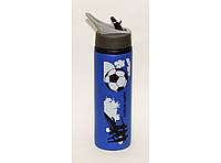 Бутылка спортивная 750 мл с поилкой трубочкой