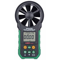 AIMOMETER MS6252B Цифровой анемометр черный & зеленый