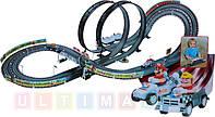 Детский  автотрек Racing 452см (Mario end Wario) 2 петли,99 елементов.