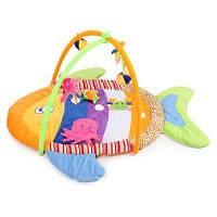 Детские Мягкие Циновки Разноцветных Рыб Тренажерный Зал Одеяло Красочный