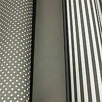 Комплект подарочной бумаги, 3 вида, 70*55см (12 листов в рулоне)