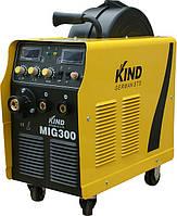 Сварочный полуавтомат KIND MIG-300 (2-х роликовый мех-зм)