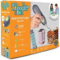 3D-ручка 3Doodler Start для детского творчества АРХИТЕКТОР 96 стержней, шаблон, аксессуары (3DS-ARCP-MUL-R)
