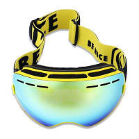 BENICE очки для сноуборда Жёлтый