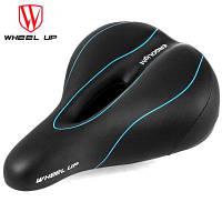 WHEELUP полый седло велосипеда сиденье с датчиком света Синий и чёрный
