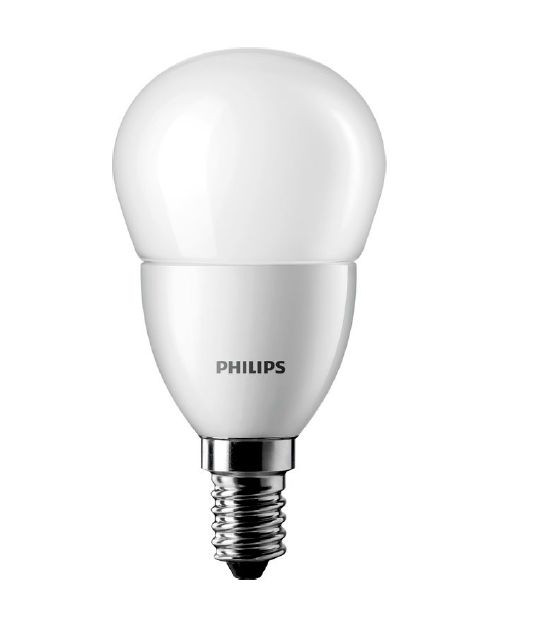 Лампа светодиодная CorePro LEDluster 4 - 25W E14 2700К P45 (люстра) PHILIPS