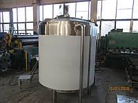 Ємність  2 м3, AISI 304 термоізольована