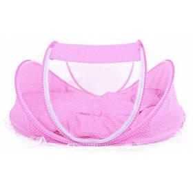 5pcs москитная сетка матрас подушка мешочная сумка аксессуар для музыки - Розовый