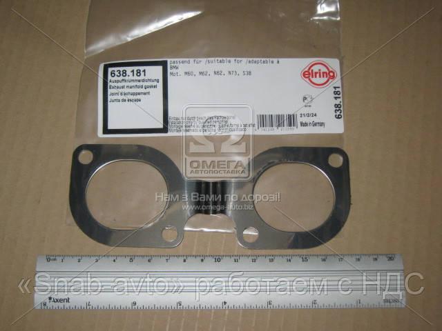 Прокладка коллектора EX BMW M60B40/M62 (3) (производство Elring) (арт. 638.181), AAHZX