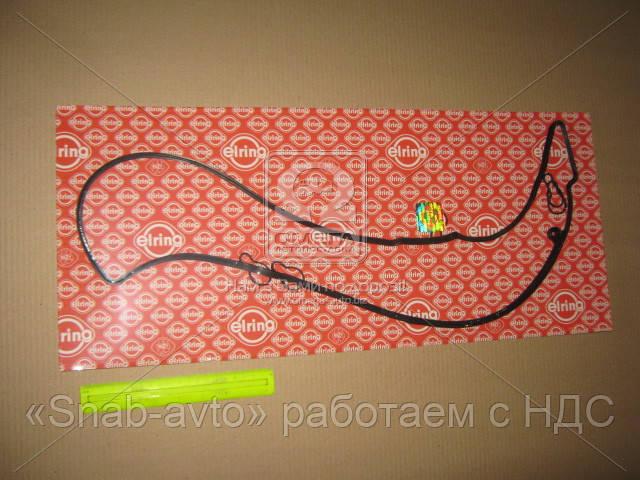 Прокладки клапанной крышки (комплект) Mercedes-Benz (MB) OM612/OM647 (производство Elring) (арт. 330.370), ACHZX