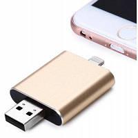 32GB i-FlashDrive HD 8-контактный USB 2.0 OTG флэш-накопитель двойной конец портативный жесткий диск 32гб