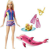 Игровой набор Barbie Подводное плаванье из м/ф Магия Дельфинов / Barbie Dolphin Magic Snorkel Fun Friends