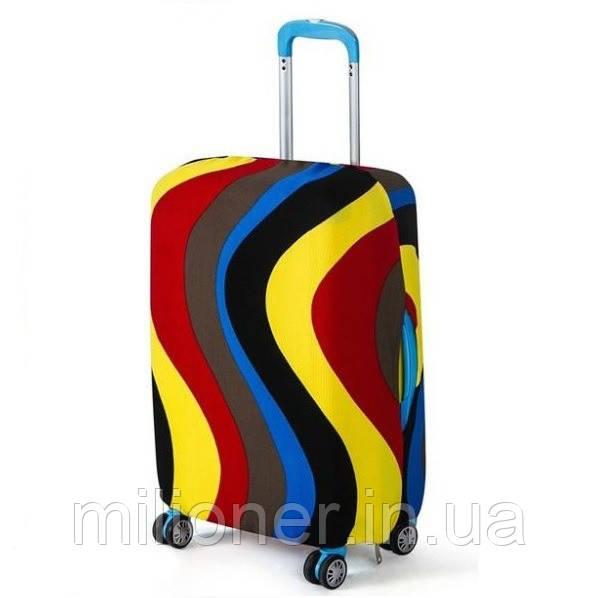 Чехол для чемодана Bonro маленький S разноцветный