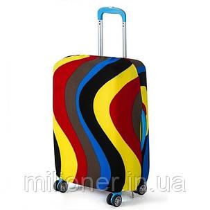 Чехол для чемодана Bonro большой XL разноцветный, фото 2