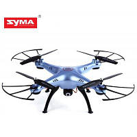 Syma X5HC 2-мегапиксельная камера 2.4G 4-канальный 6-осевой квадрокоптер RTF Синий