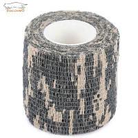 EDCGEAR 4.5M Тактичская Камуфляжная клейкая лента из ткани ACU Камуфляжный