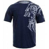 Футболка для мужчин с круглым воротником и принтом татуировка дракона 73960