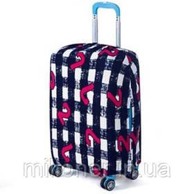 Чехол для чемодана Bonro большой черно-белый (12052415) XL