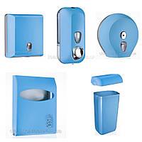 Комплект для туалетной комнаты, Marplast, голубой