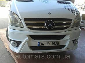 """Передний бампер Спорт """"1"""" Mercedes Sprinter W906"""