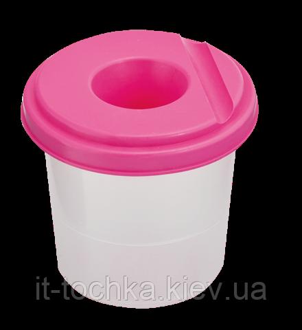Одинарный стакан-непроливайка zibi zb.6900-10 розовый