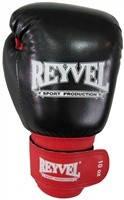 Перчатки боксёрские REYVEL кожа+винил 10 унций