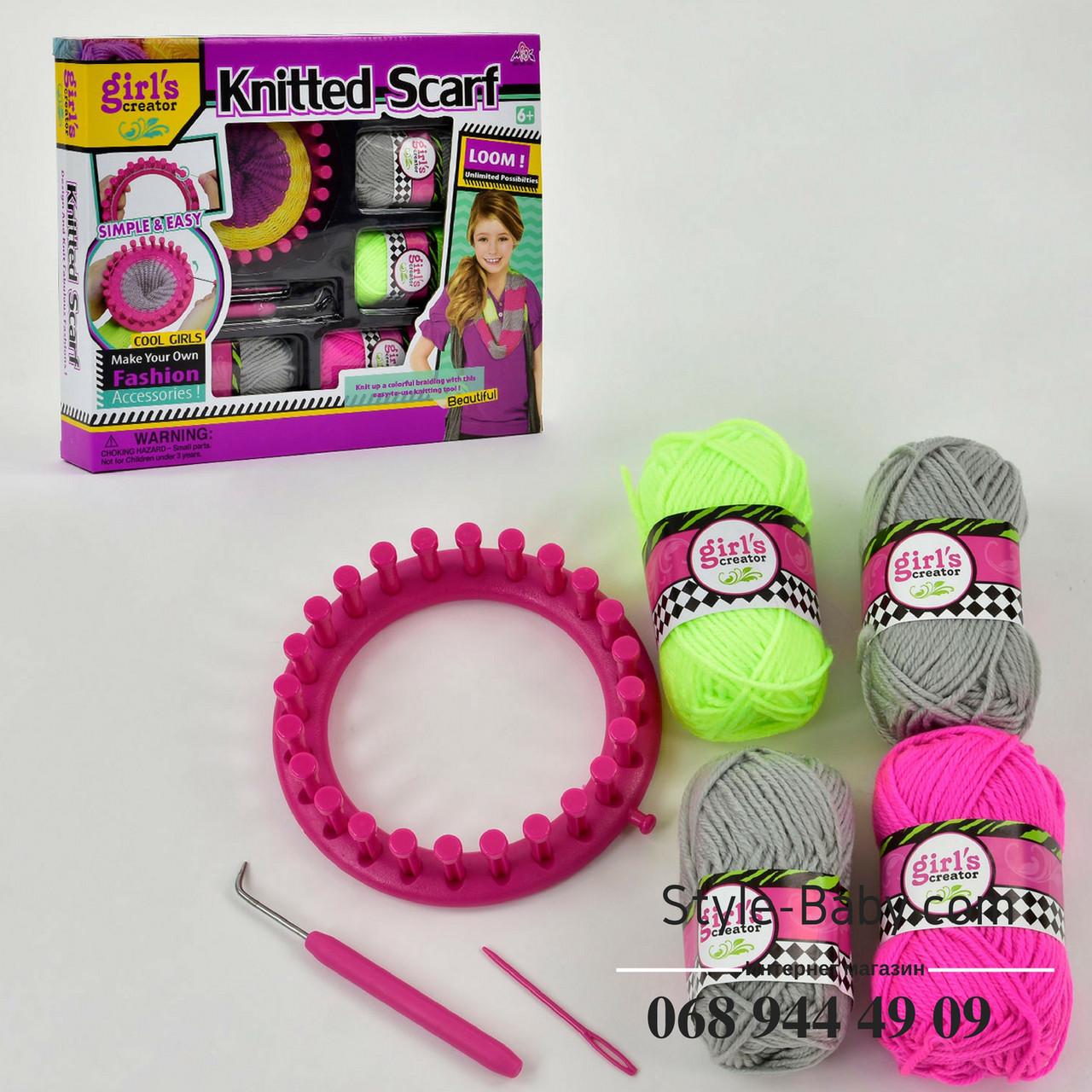 набор для вязания мвк новые идеи творчества для девочек в коробке