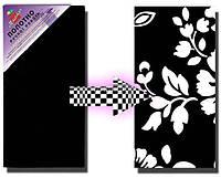 Холст на подрамнике Черный ТМ Этюд,  Разные размеры, среднее зерно, хлопок