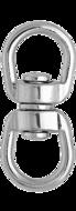 Вертлюг 6 мм петля-петля никелированный
