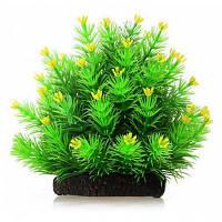 Искуственное растение цветы декор для аквариума Зелёный