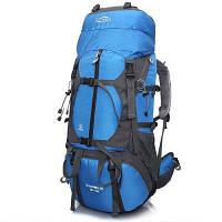 LOCAL LION рюкзак для пешеходного путешествия с водонепроницаемым характером 60л Синий