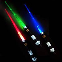 Световой меч Звездные Войны телескопический со звуком и светом, фото 1