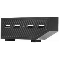 4 в 1 Адаптер зарядки USB-концентратор для Xbox One игровой консоли Чёрный