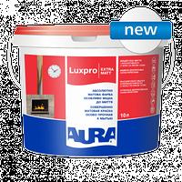 Моющаяся краска Aura Luxpro Extramatt 10 л + валик в подарок