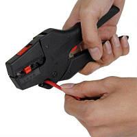 FS-D3 клещи для зачистки кабеля с автоматической регулировкой Чёрный