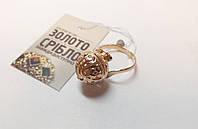 Золотое кольцо б/у, вес 6.86 грамм. Размер 17,5.