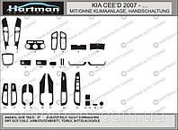 Накладки на панель Kia Ceed (2007+)