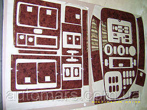 Накладки на панель Mercedes Vito (V-класс 1999-2003)