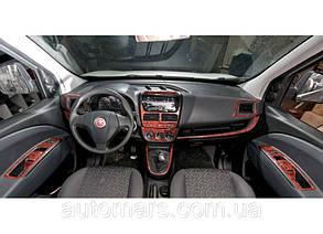 Накладки на панель Fiat Doblo Nuovo (2010+)