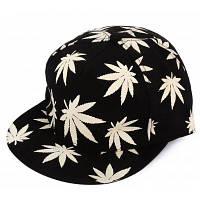 Модная ночная светящаяся бейсбольная кепка / бейсболка танцевальная шляпа из холста в стиле хип-хоп Чёрный