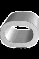 Зажим алюминиевый 1