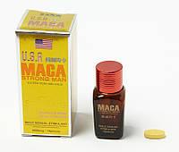 Maca USA Strong Man (Мака) - 10 табл. 6800 мг.- препарат для сильнейшей потенции. действие через 10 мин.